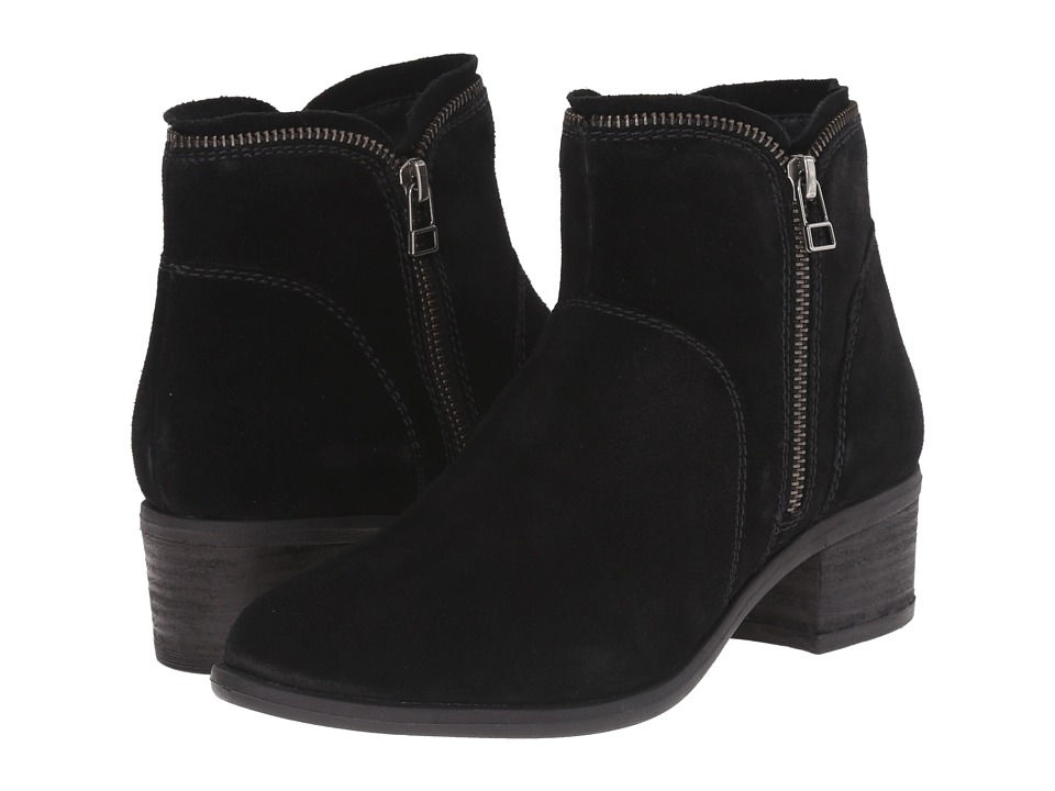 Blondo - Magen Waterproof (Black Suede) Women