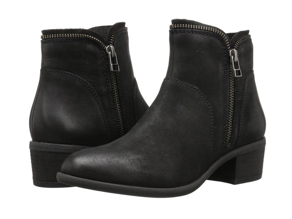 Blondo - Magen Waterproof (Black Leather) Women's 1-2 inch heel Shoes
