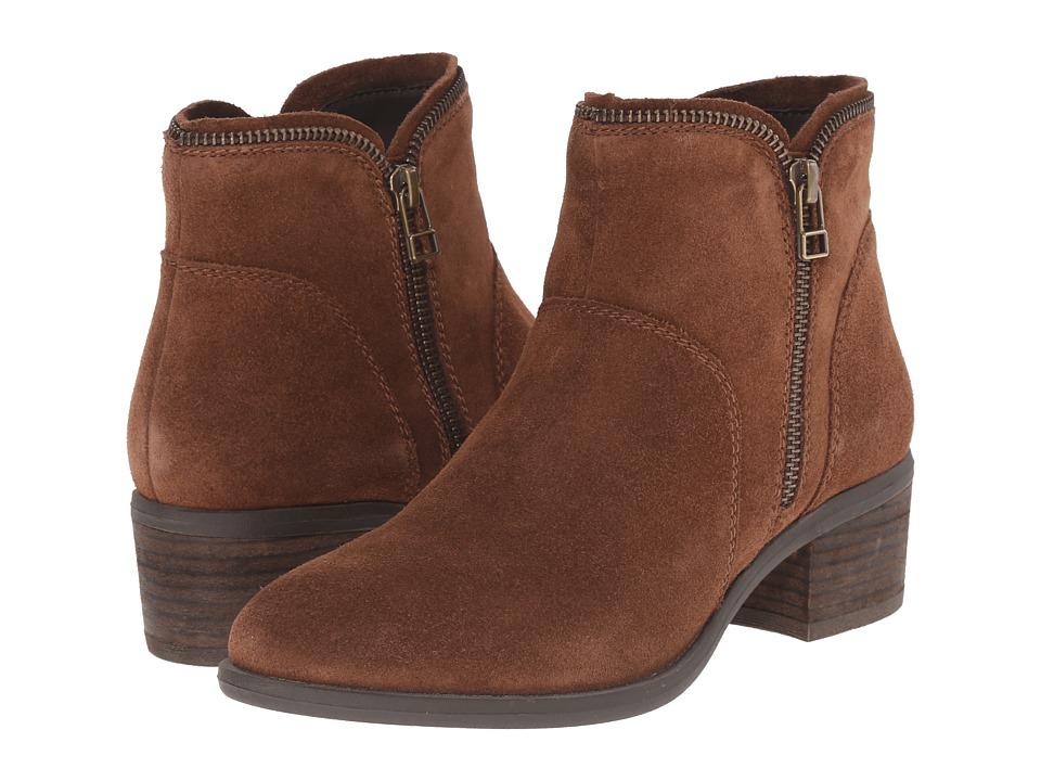 Blondo - Magen Waterproof (Tan Suede) Women's 1-2 inch heel Shoes