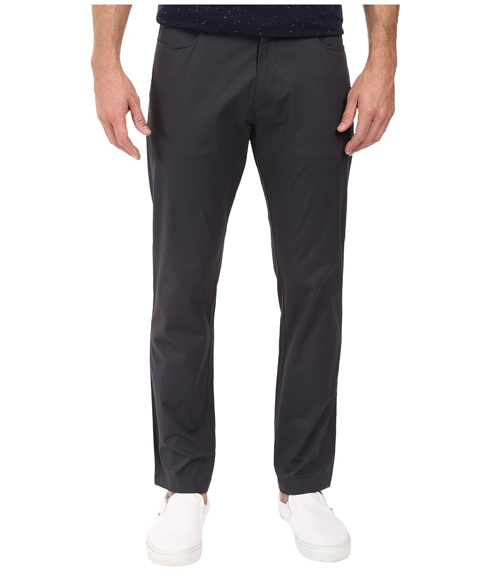 Calvin Klein - Four-Pocket Sateen Bowery Pants (Tornado) Men's Casual Pants