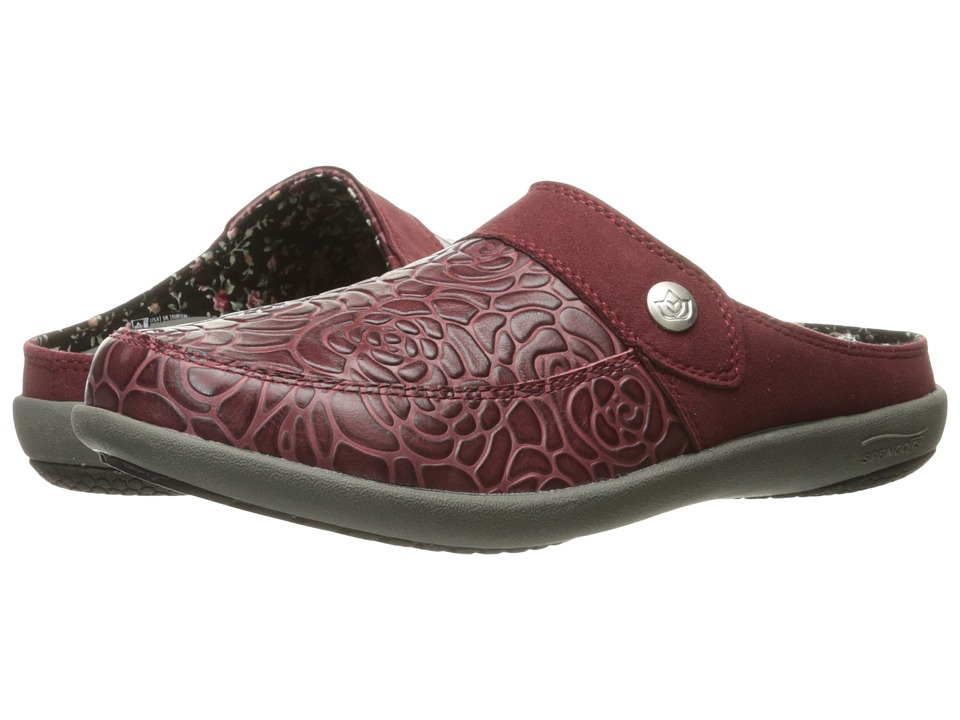 Spenco - Alicia (Wine) Women's Shoes