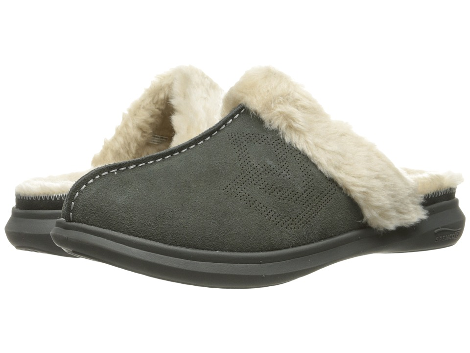 Spenco - Supreme Slide (Charcoal) Women's Slippers