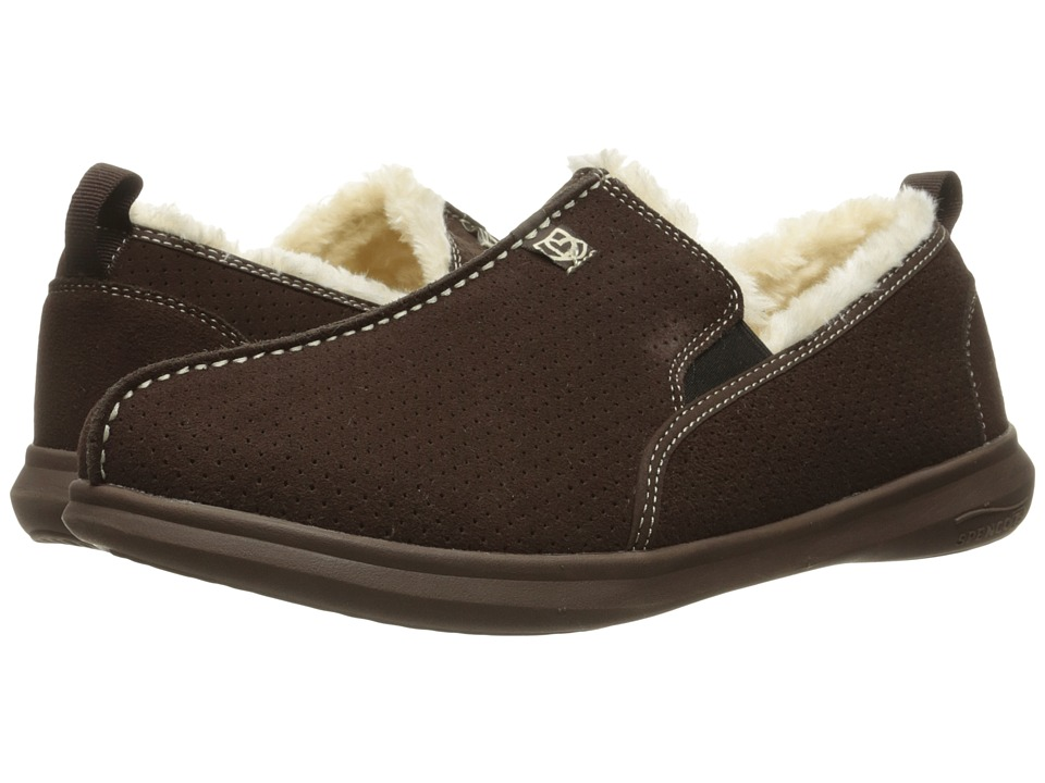 Spenco - Supreme Slipper (Chocolate/Chocolate) Men's Slippers