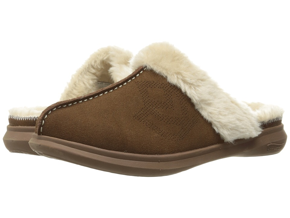 Spenco - Supreme Slide (Chocolate/Bison) Women's Slippers