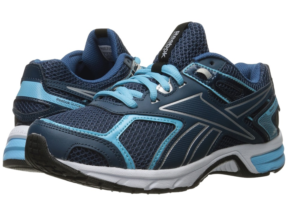 Reebok - Quickchase (Noble Blue/Crisp Blue/Silver/White) Women's Shoes