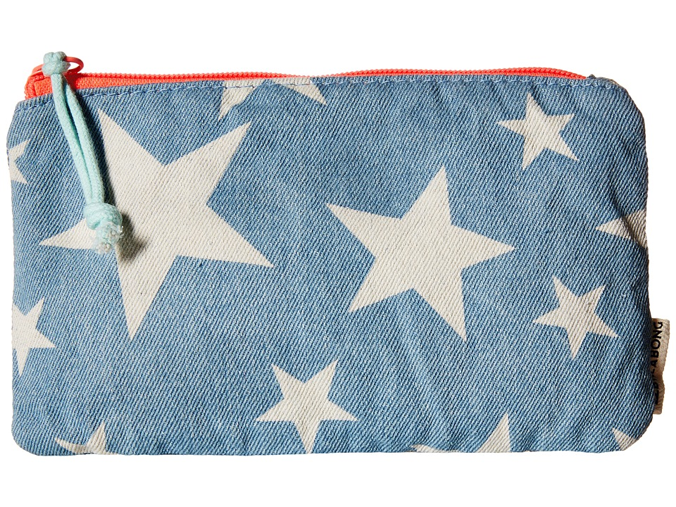 Billabong - Artsy Space Pencil Case (Little Kids/Big Kids) (Indigo) Wallet