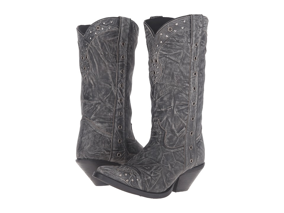 Durango Crush Punk Studded 12 (Black) Cowboy Boots