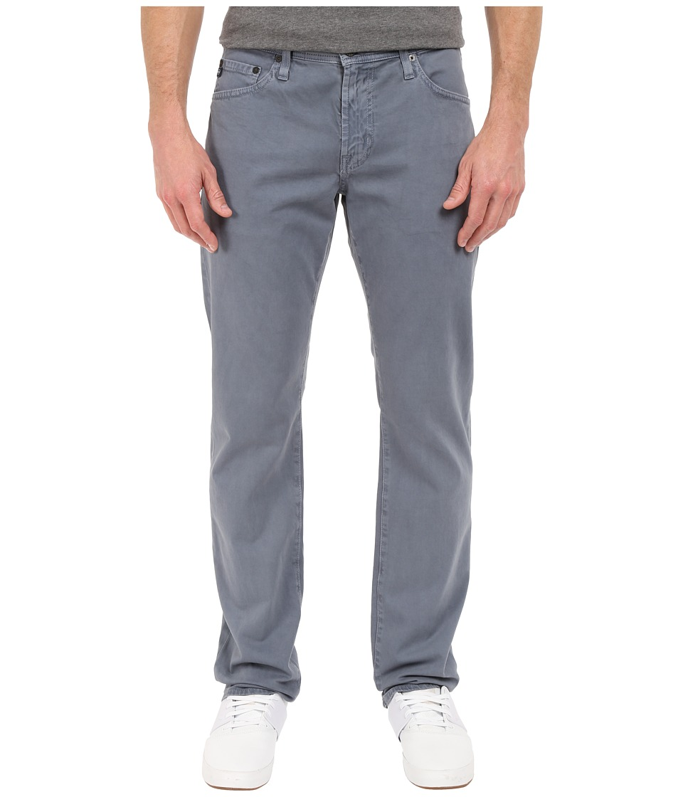 AG Adriano Goldschmied - Graduate Tailored Leg Pants in Sulfur Dusty Blue (Sulfur Dusty Blue) Men's Casual Pants