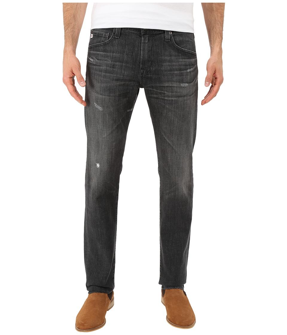 AG Adriano Goldschmied - Matchbox Slim Straight Denim in 9 Years Drive (9 Years Drive) Men's Jeans
