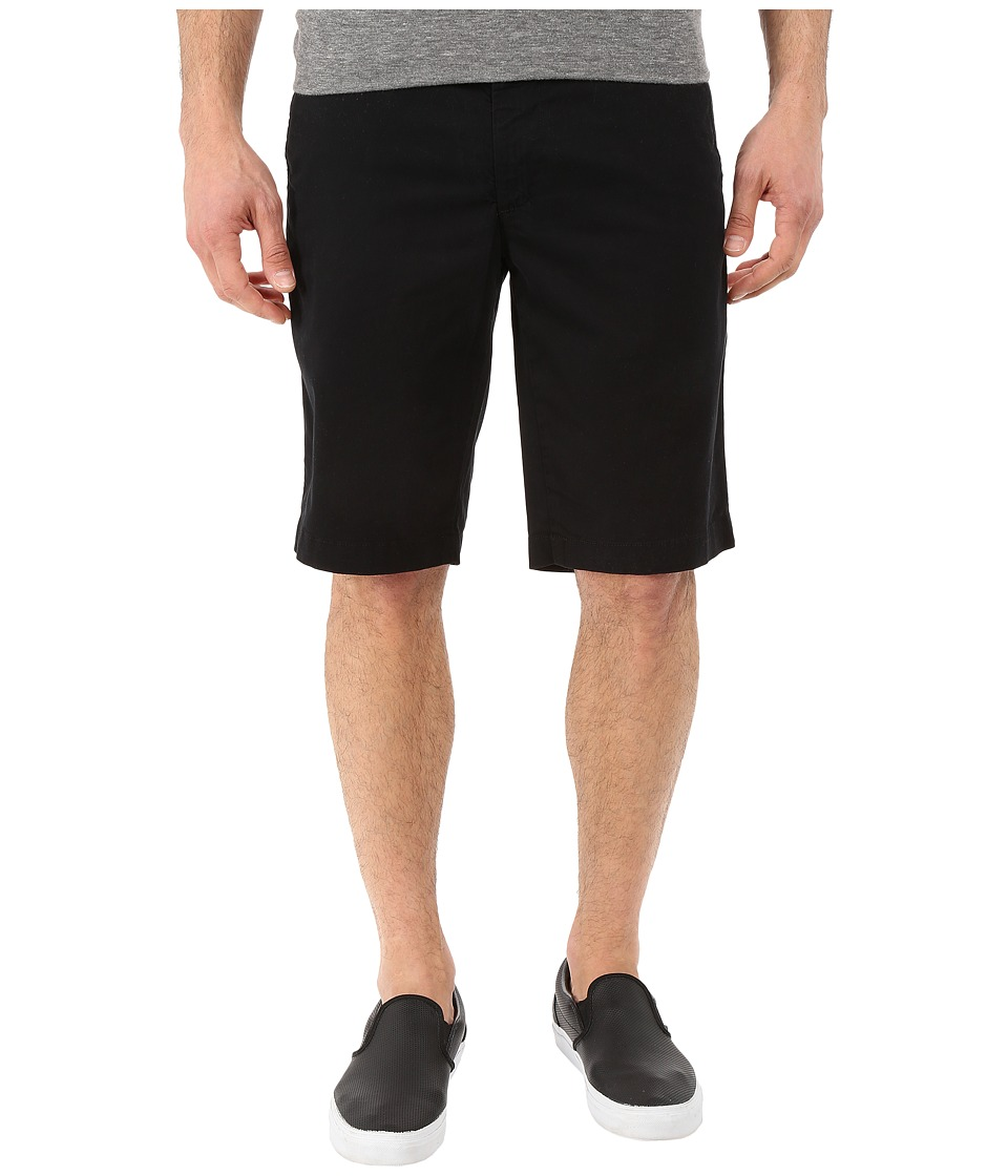 AG Adriano Goldschmied - Griffin Relaxed Shorts in Super Black (Super Black) Men's Shorts