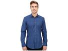 Calvin Klein Long Sleeve Shadow Plaid Shirt