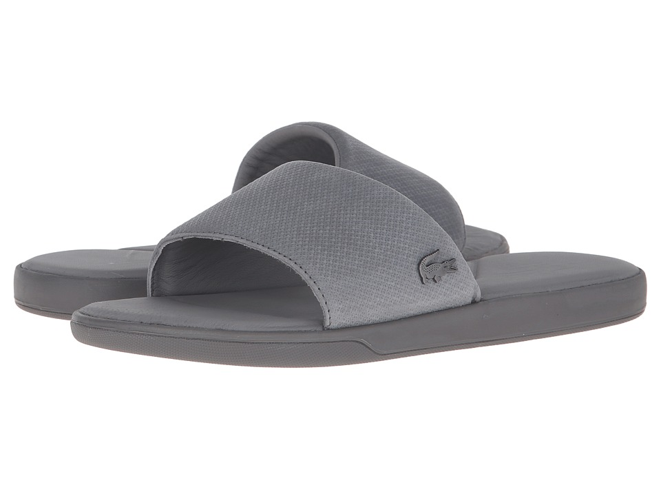 Lacoste - L.30 Slide Casual Cam (Grey) Men's Shoes