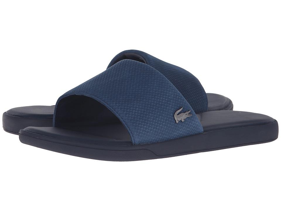 Lacoste - L.30 Slide Casual Cam (Navy) Men's Shoes