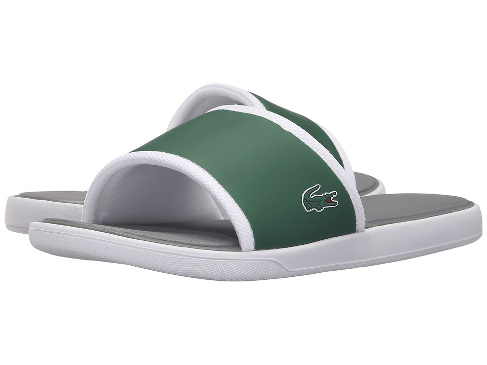 Lacoste - L.30 Slide Sport SPM (Dark Green/Grey) Men's Shoes