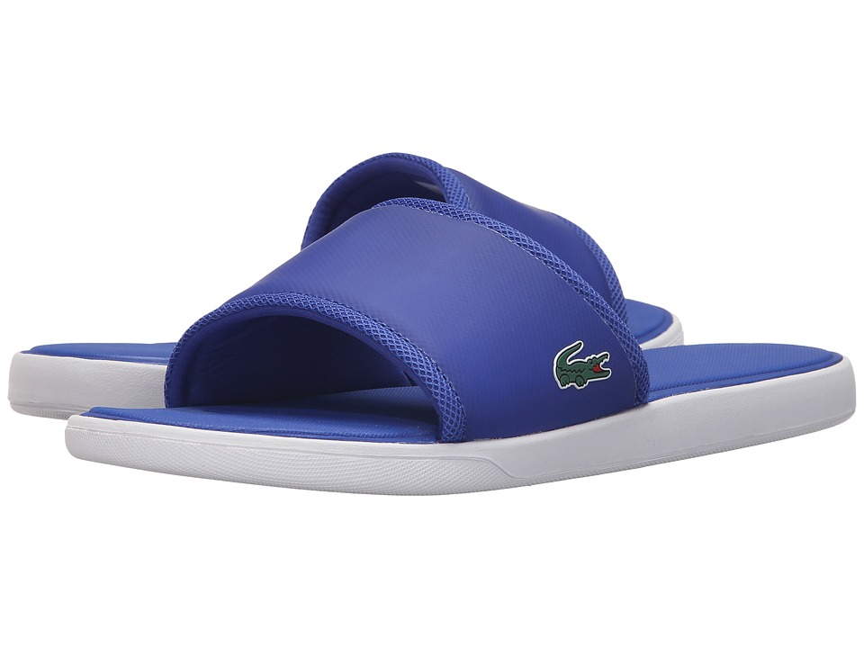 Lacoste - L.30 Slide Sport SPM (Blue) Men's Shoes