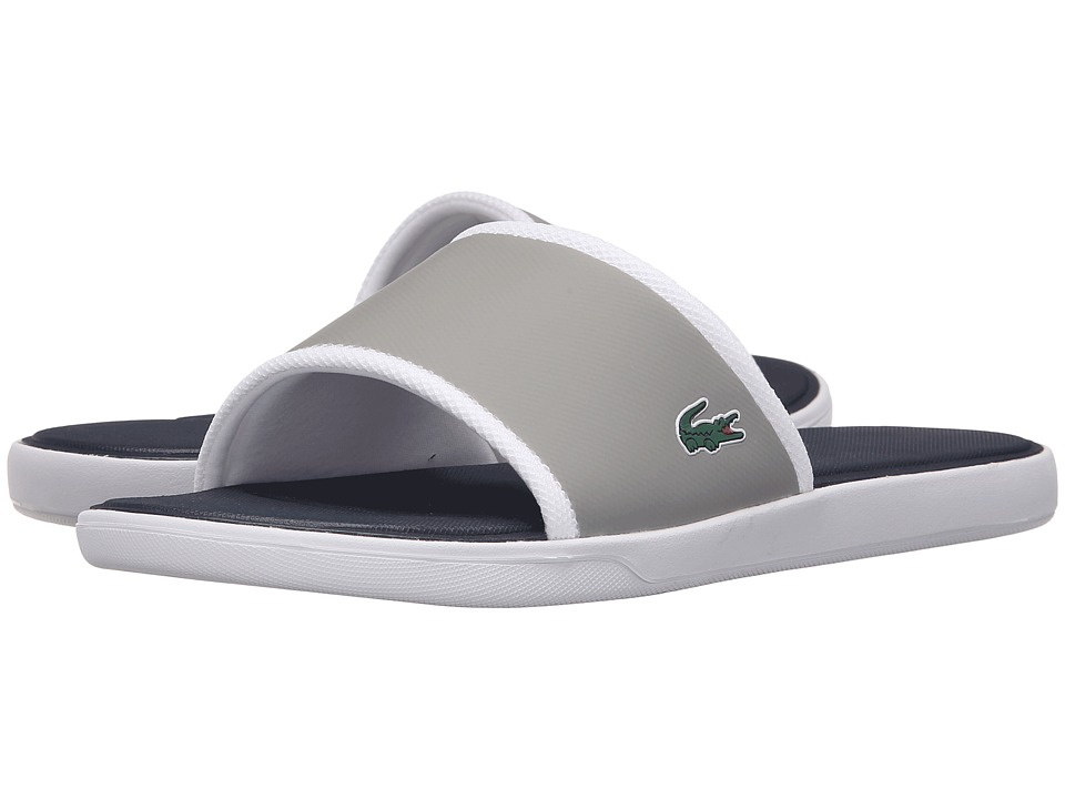 Lacoste - L.30 Slide Sport SPM (Grey/Navy) Men's Shoes