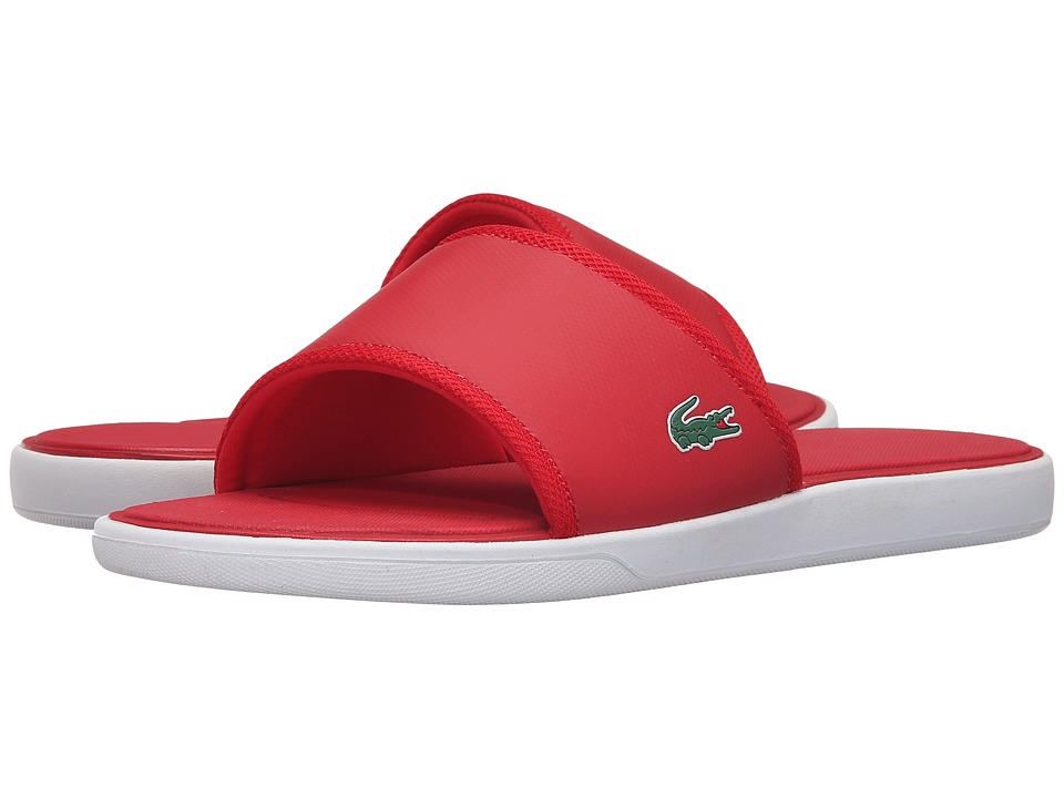 Lacoste - L.30 Slide Sport SPM (Red) Men's Shoes