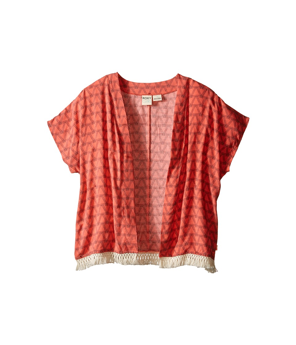 Roxy Kids - Kickflip Kimono (Big Kids) (Georgia Peach) Girl's Clothing