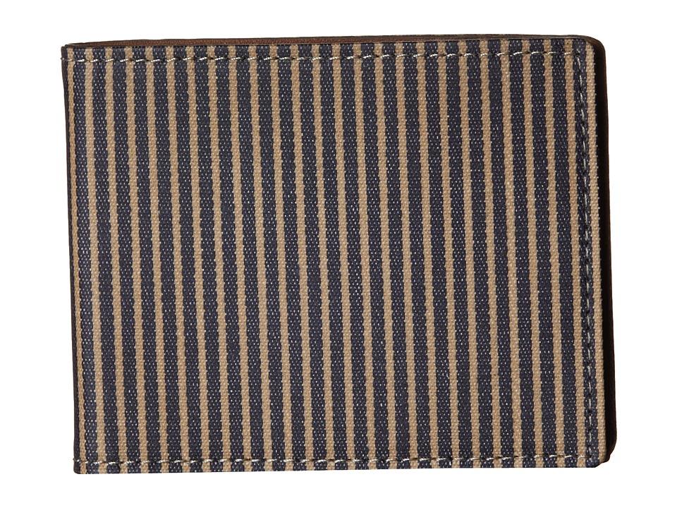 Fossil - Henderson Bifold (Blue) Bi-fold Wallet