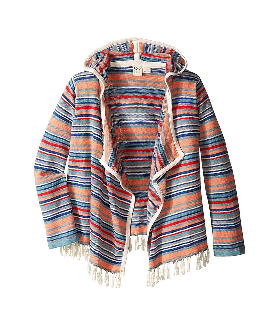 Roxy Kids - Seaside Cardigan (Big Kids) (Sea Spray) Girl's Sweater