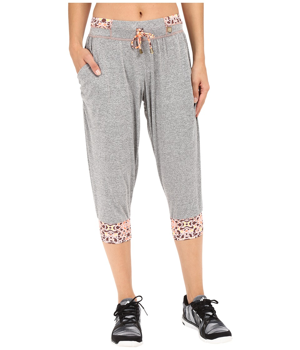 Maaji - Breezy Lion Yoga Pants (Grey) Women's Casual Pants