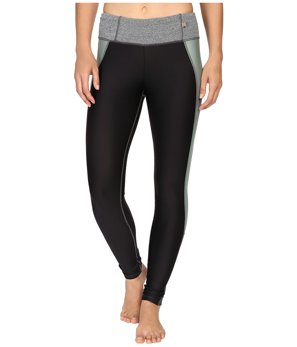 Maaji - Ashen Block Leggings (Black) Women's Casual Pants