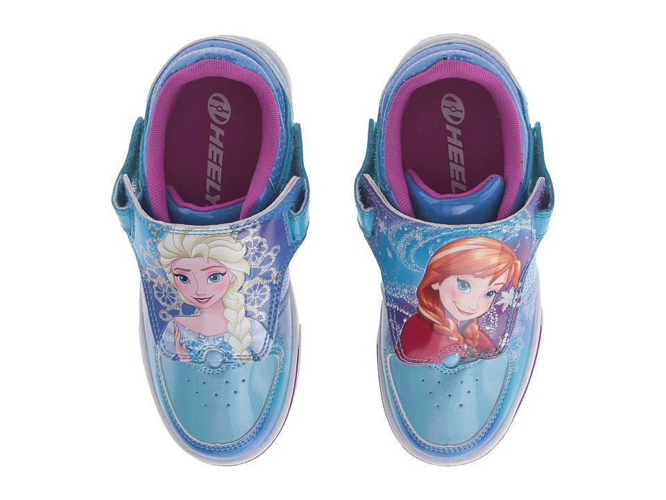 Heelys - Twisterx2 Frozen (Little Kid/Big Kid) (Blue/Silver) Girls Shoes