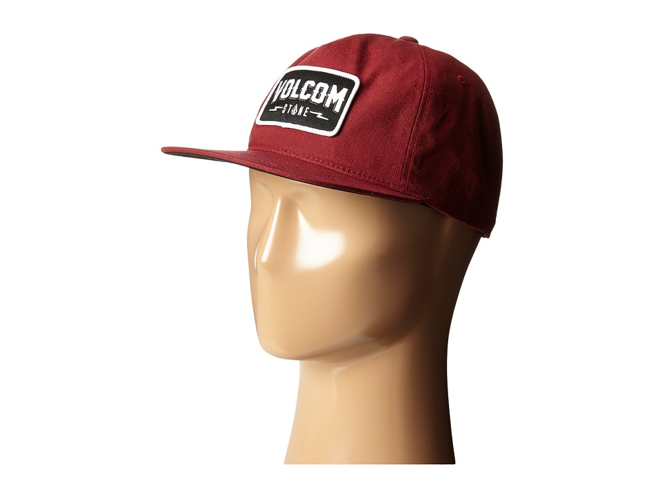Volcom - Badger (Merlot) Caps
