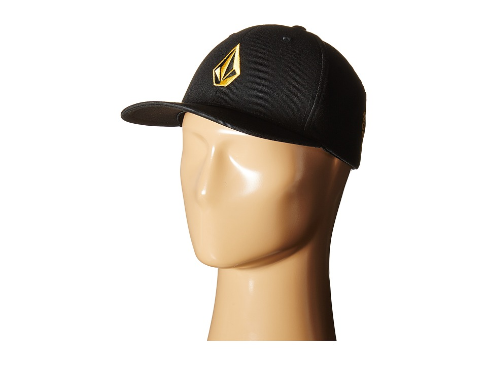 Volcom - Full Stone X-Fit FlexFit (Dull Gold) Baseball Caps