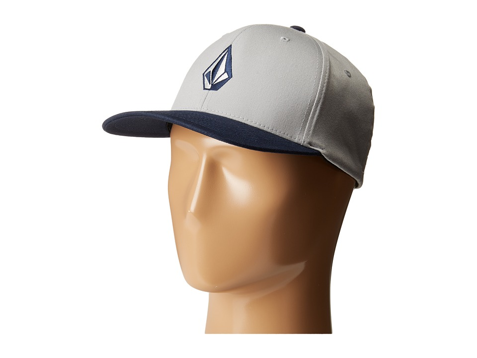 Volcom - Full Stone X-Fit FlexFit (Mist) Baseball Caps