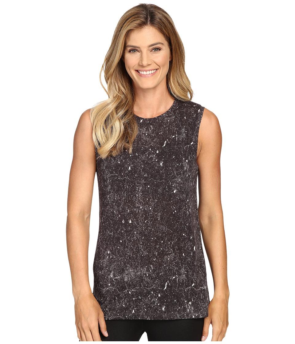 Lucy - Savasana Muscle Tank Top (Grey Constellation Print) Women's Sleeveless