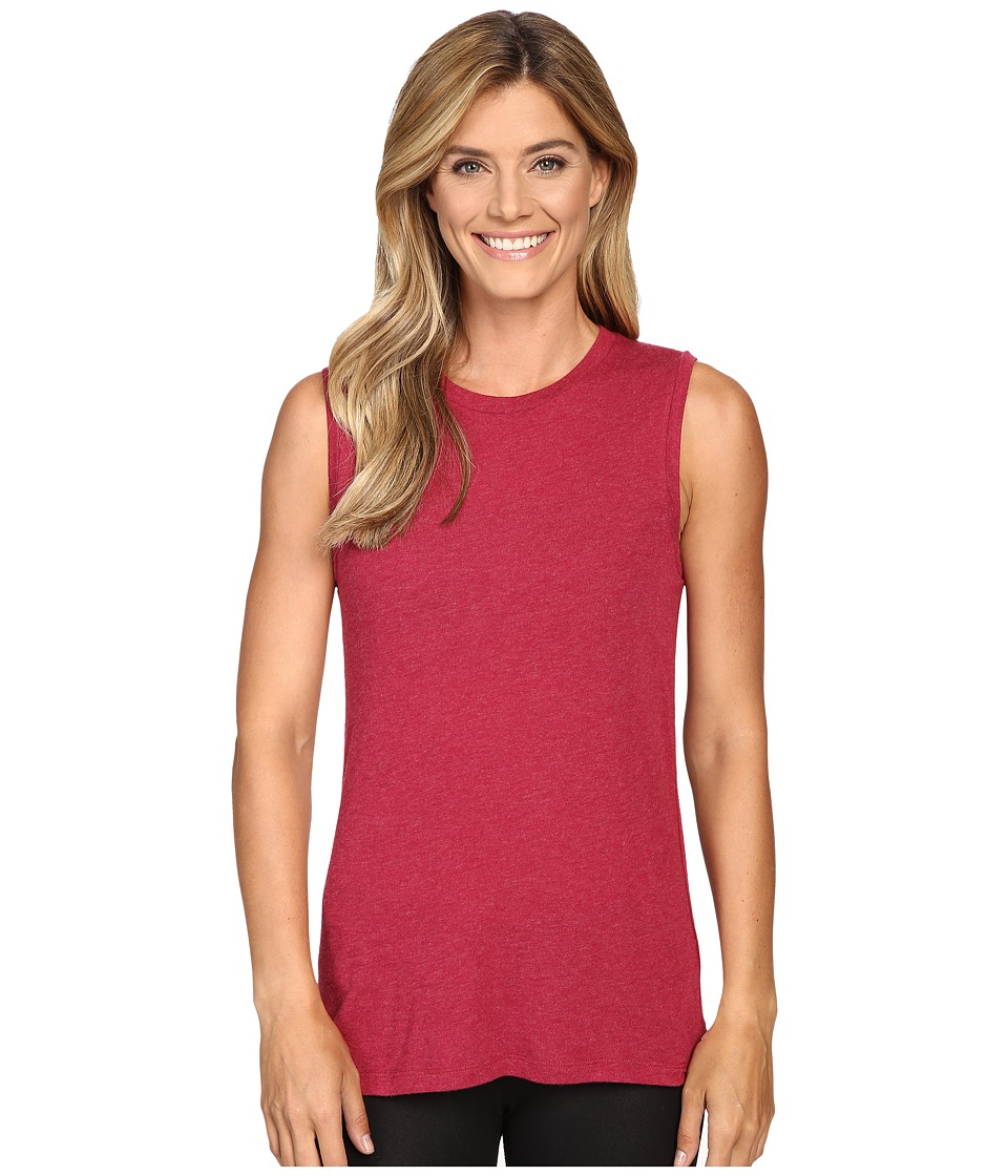 Lucy - Savasana Muscle Tank Top (Beet Red) Women's Sleeveless