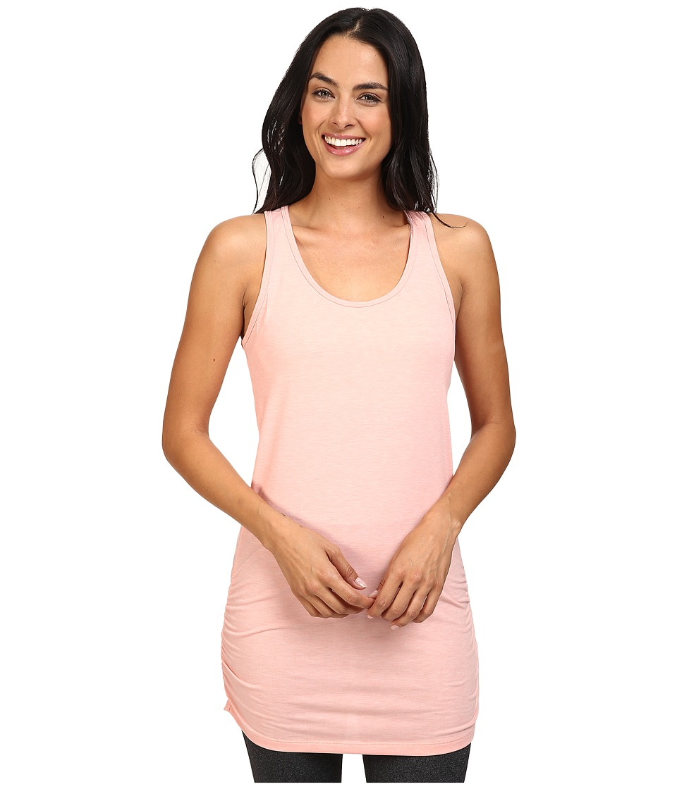 Lucy - Yoga Girl Sleeveless Tunic (Rose Gold Heather) Women's Sleeveless