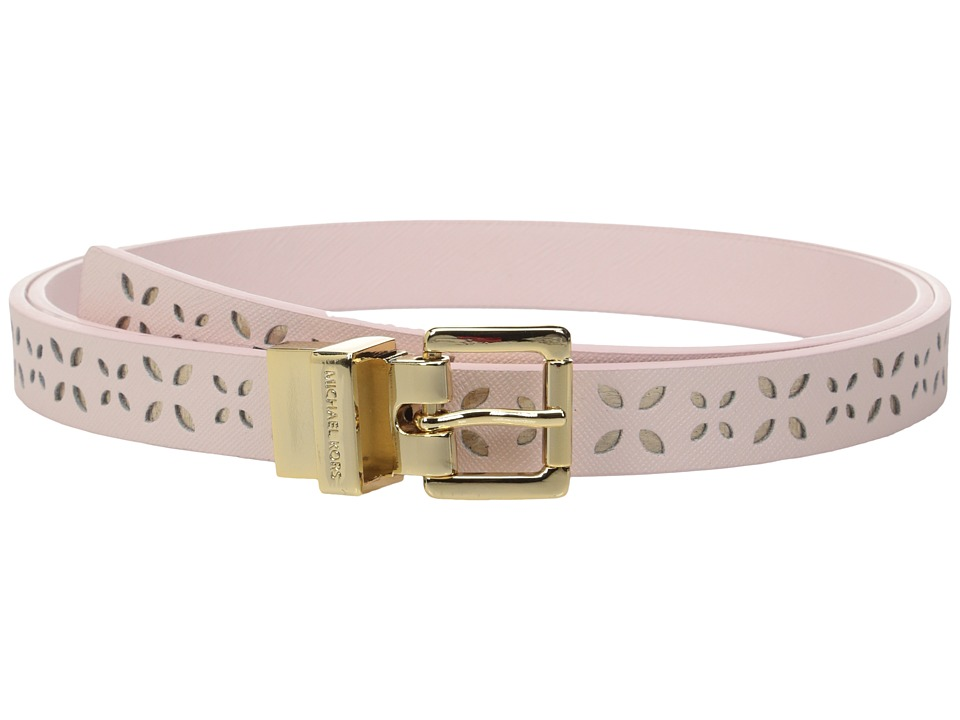 MICHAEL Michael Kors - 20mm Reversible Saffiano to Saffiano Belt (Pale Pink) Women's Belts