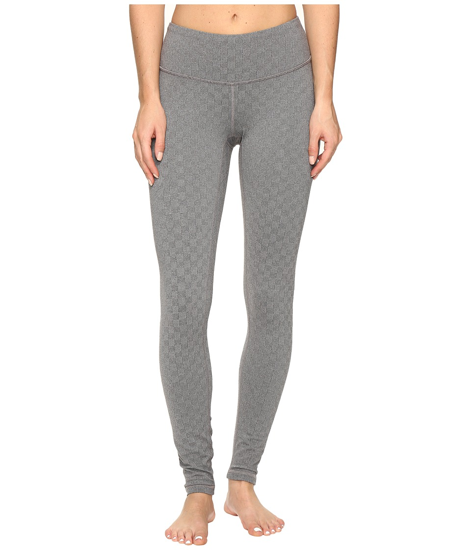 Lucy - Studio Hatha Leggings (Lucy Black Jacquard Check) Women's Workout