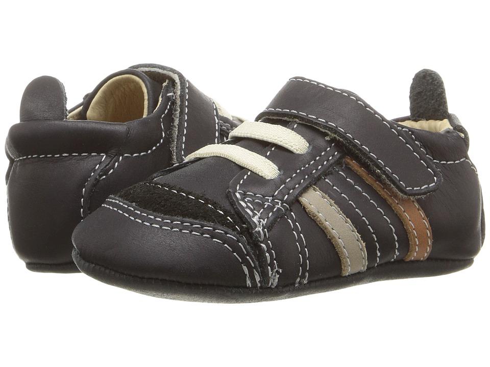 Old Soles - Urban Edge (Infant/Toddler) (Distressed Black/Elephant Grey/Tan) Boys Shoes