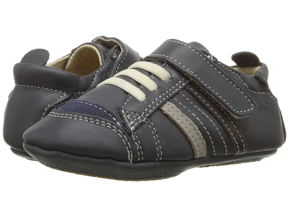 Old Soles - Urban Edge (Infant/Toddler) (Distressed Navy/Elephant Grey/Brown) Boys Shoes