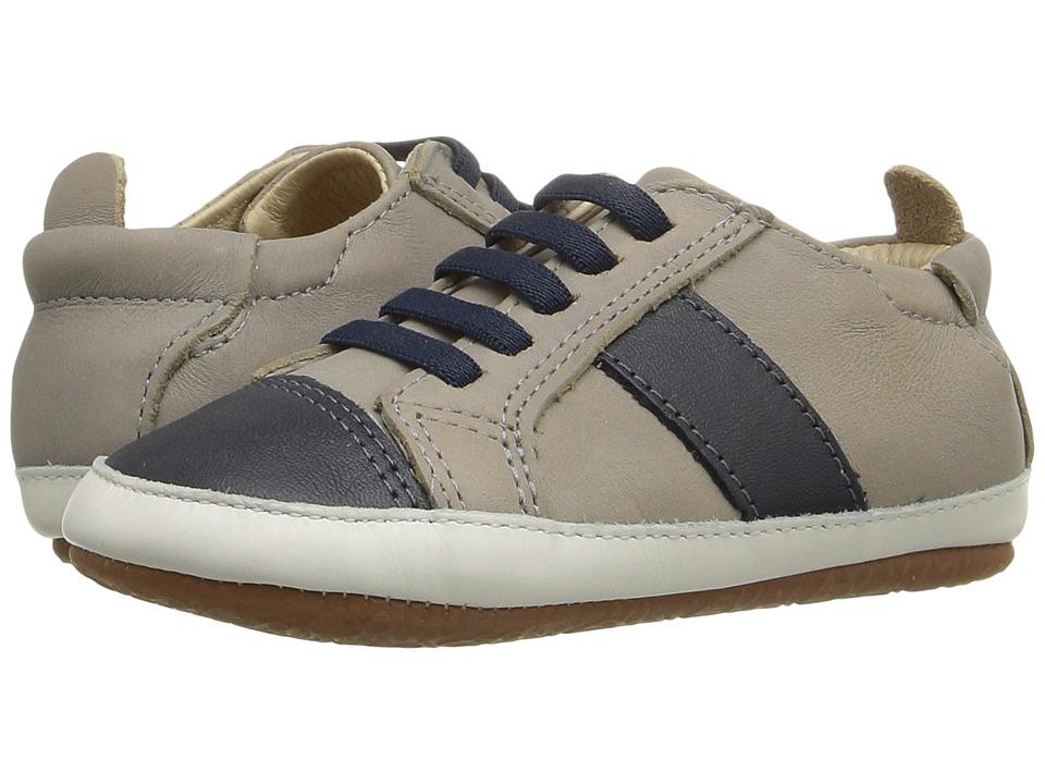 Old Soles - Eazy Shine (Infant/Toddler) (Elephant Grey/Navy/Navy) Boys Shoes