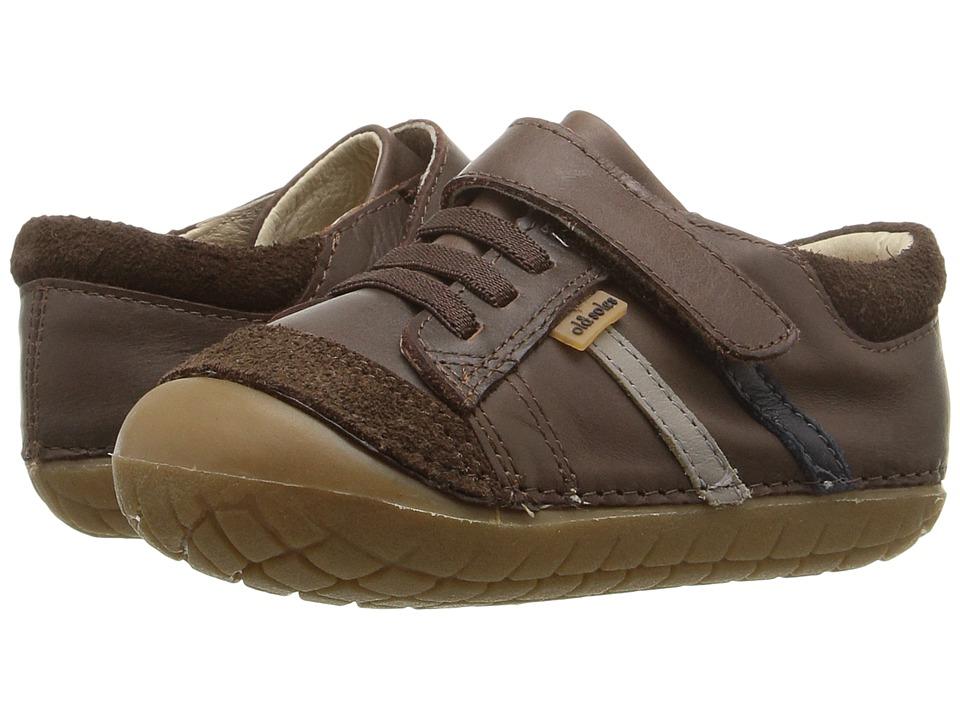 Old Soles - Pave Denzle (Infant/Toddler) (Distressed Brown/ Elephant Grey/Navy) Boys Shoes