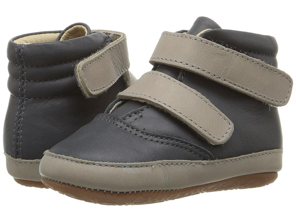Old Soles - Space Cadet (Infant/Toddler) (Distressed Navy/Elephant Grey) Kids Shoes