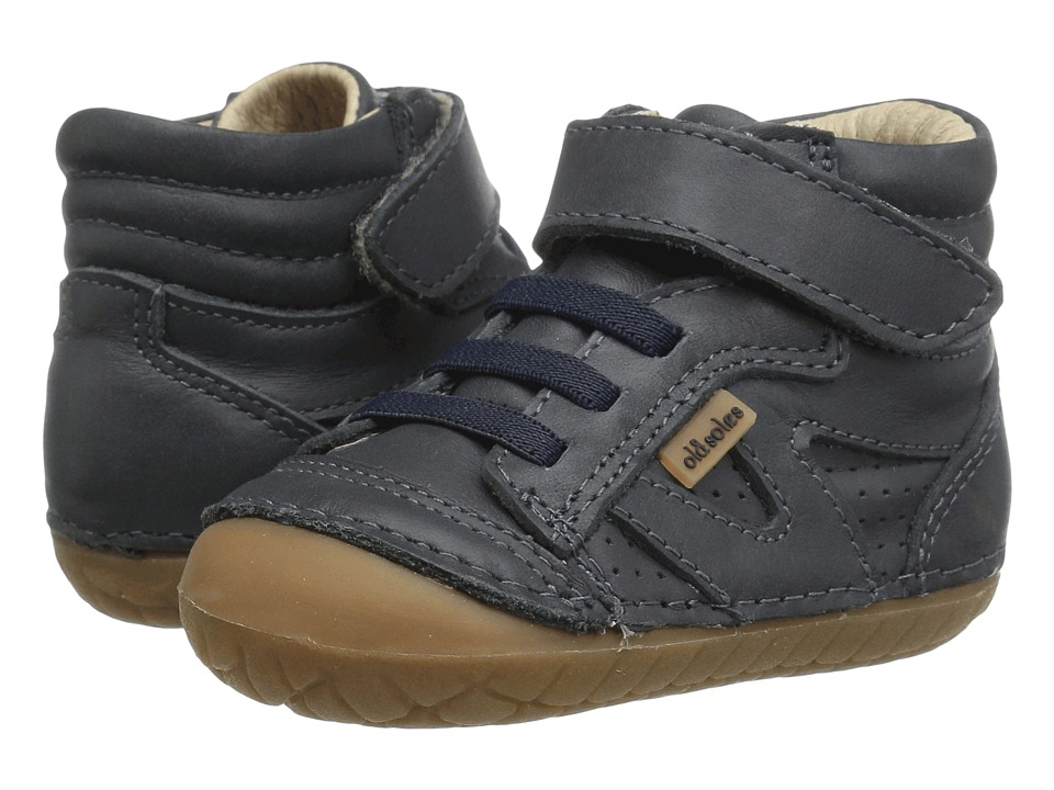 Old Soles - Pave Leader (Infant/Toddler) (Distressed Navy) Kids Shoes