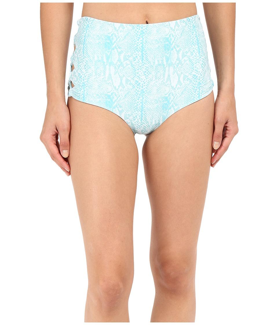 Tori Praver - Tamarind Bottom (Snake Azul) Women's Swimwear