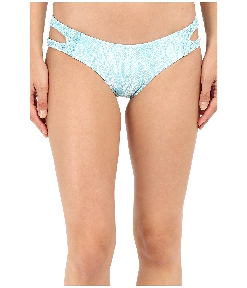 Tori Praver - Raven Bottom (Snake Azul) Women's Swimwear