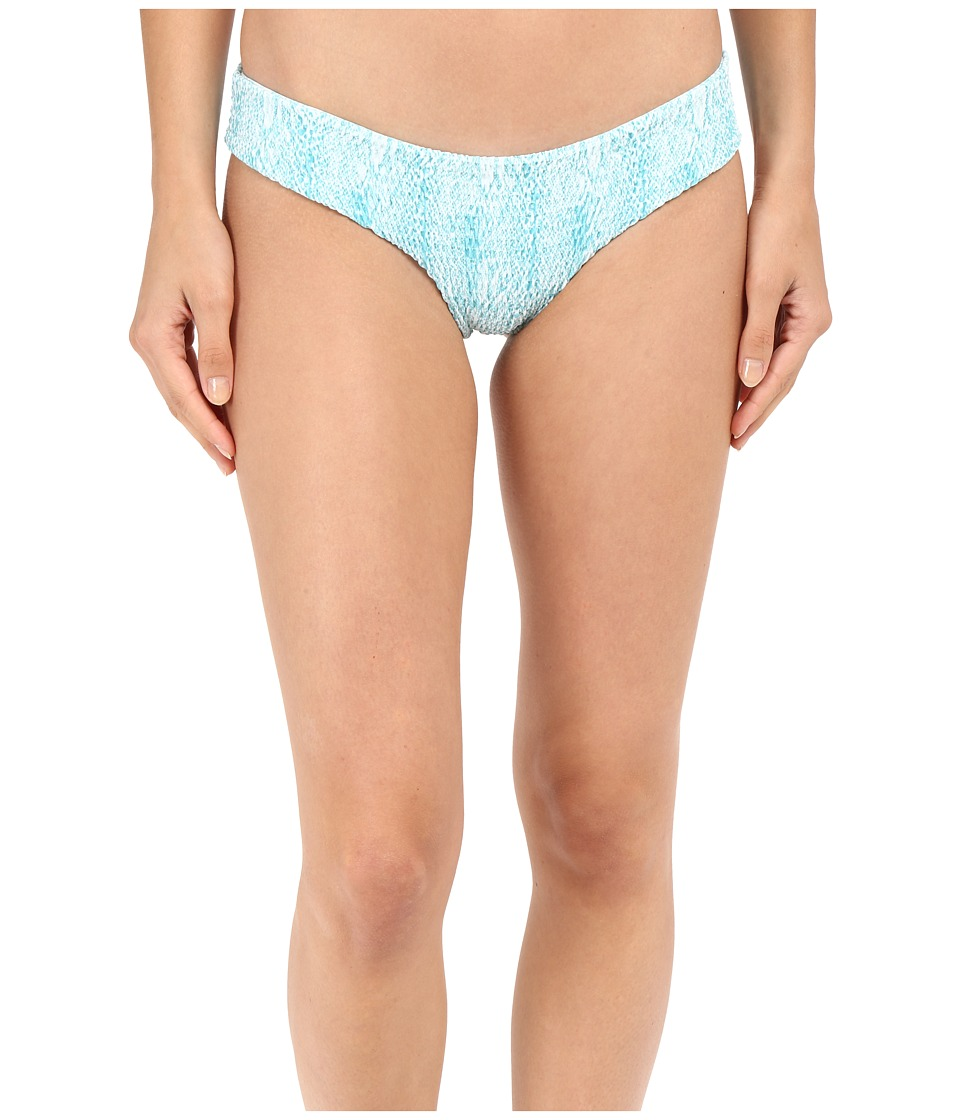 Tori Praver - Oaxaca Bottom Full Coverage (Snake Azul) Women's Swimwear