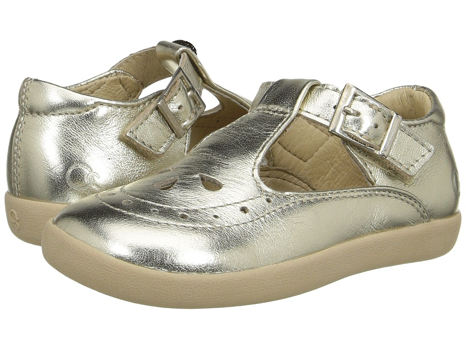 Old Soles - Tea Shoe (Toddler/Little Kid) (Gold) Girls Shoes
