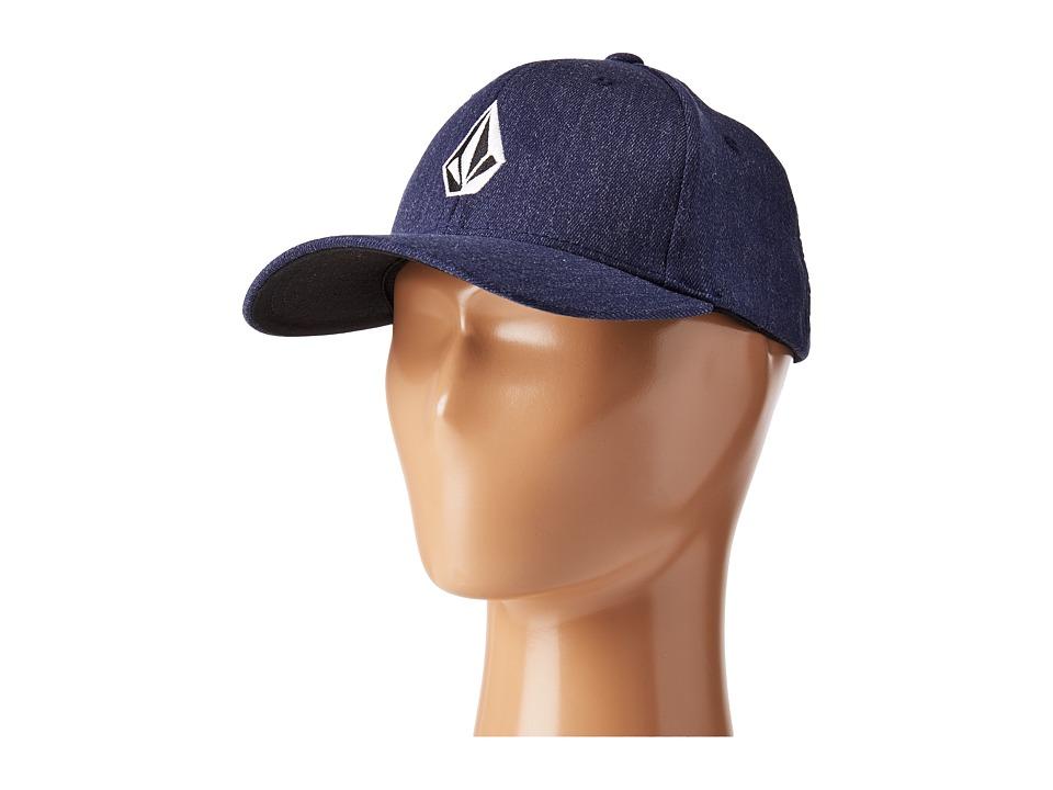 Volcom - Full Stone Heather XFit (Big Kids) (Charcoal Heather) Baseball Caps