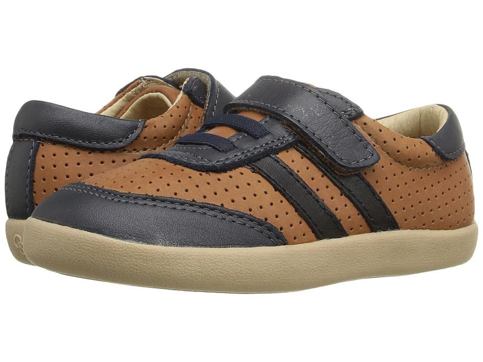 Old Soles - Cam Shoe (Toddler/Little Kid) (Tan/Navy/Black) Boy's Shoes