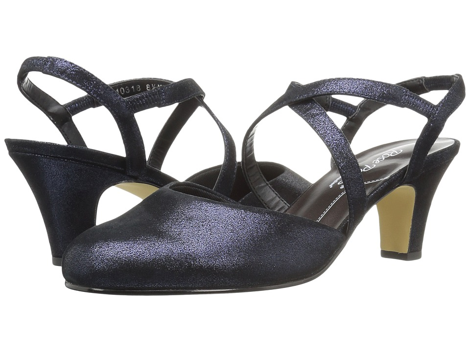 Walking Cradles Caliente (Navy Shimmer Suede) Women