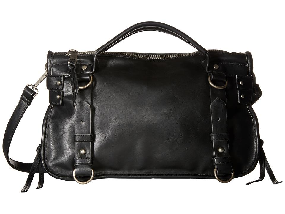 Gabriella Rocha - Honor Satchel with Belts (Black) Satchel Handbags