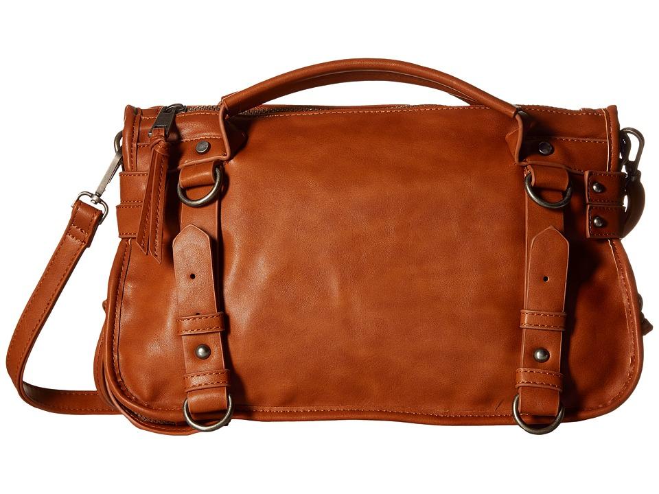 Gabriella Rocha - Honor Satchel with Belts (Camel) Satchel Handbags
